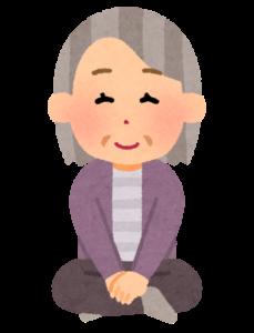 床から立ち上がる想定場面は在宅介護に多い