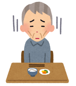 高齢者は低栄養状態になりやすい