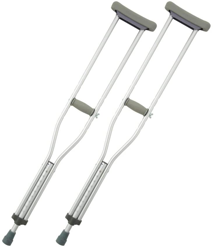 Crutch grayのアルミ軽量松葉杖買うなら楽天とAmazonどっち?