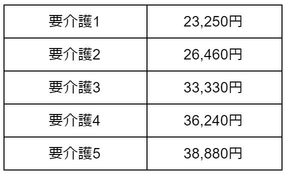 Ⅰ型介護医療院サービス費(Ⅲ)療養機能強化型B相当の場合 表