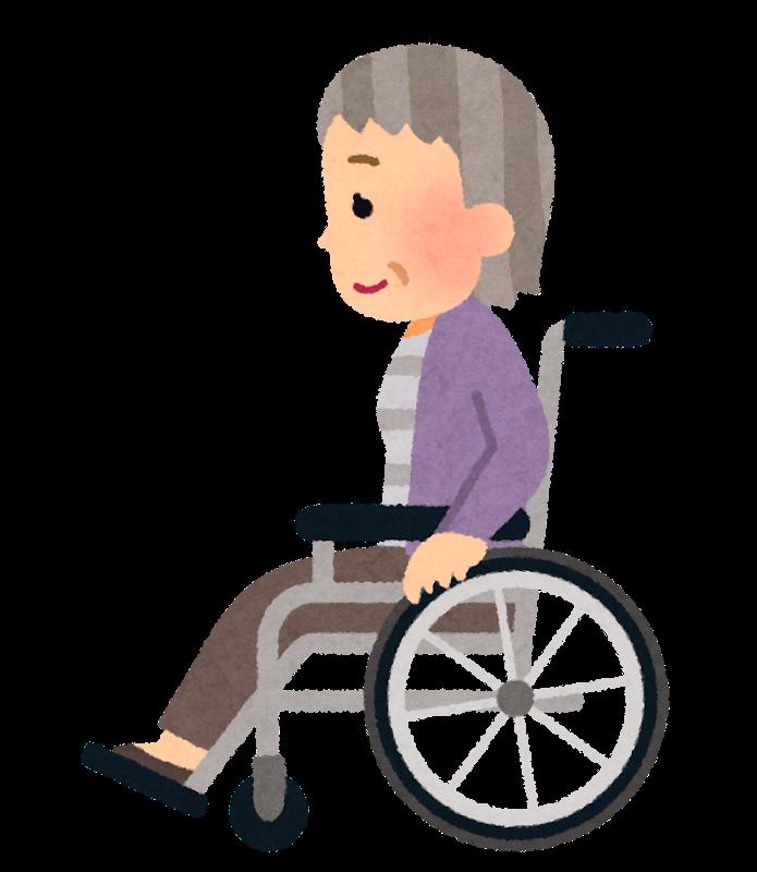 車椅子から床に移る介助の留意点